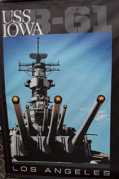 Fire in the Hole! USS-IOWA