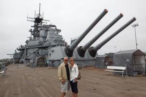 On Board the USS IOWA