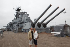 On Board the USS IOWA