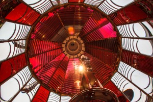 Umpqua Lighthouse Lens