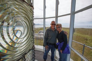 Us in the Cape Blanco Watch Tower