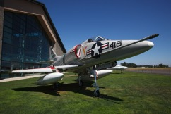 Fighter Jet at the Evergreen Aviation Museum