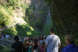 Multnomah Falls Footbridge