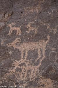 Petroglyphs Superstition Mt. AZ