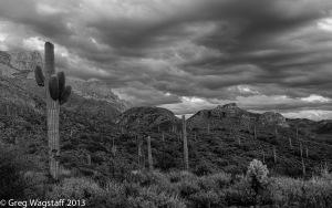 Desert Drama Superstition Mt. AZ