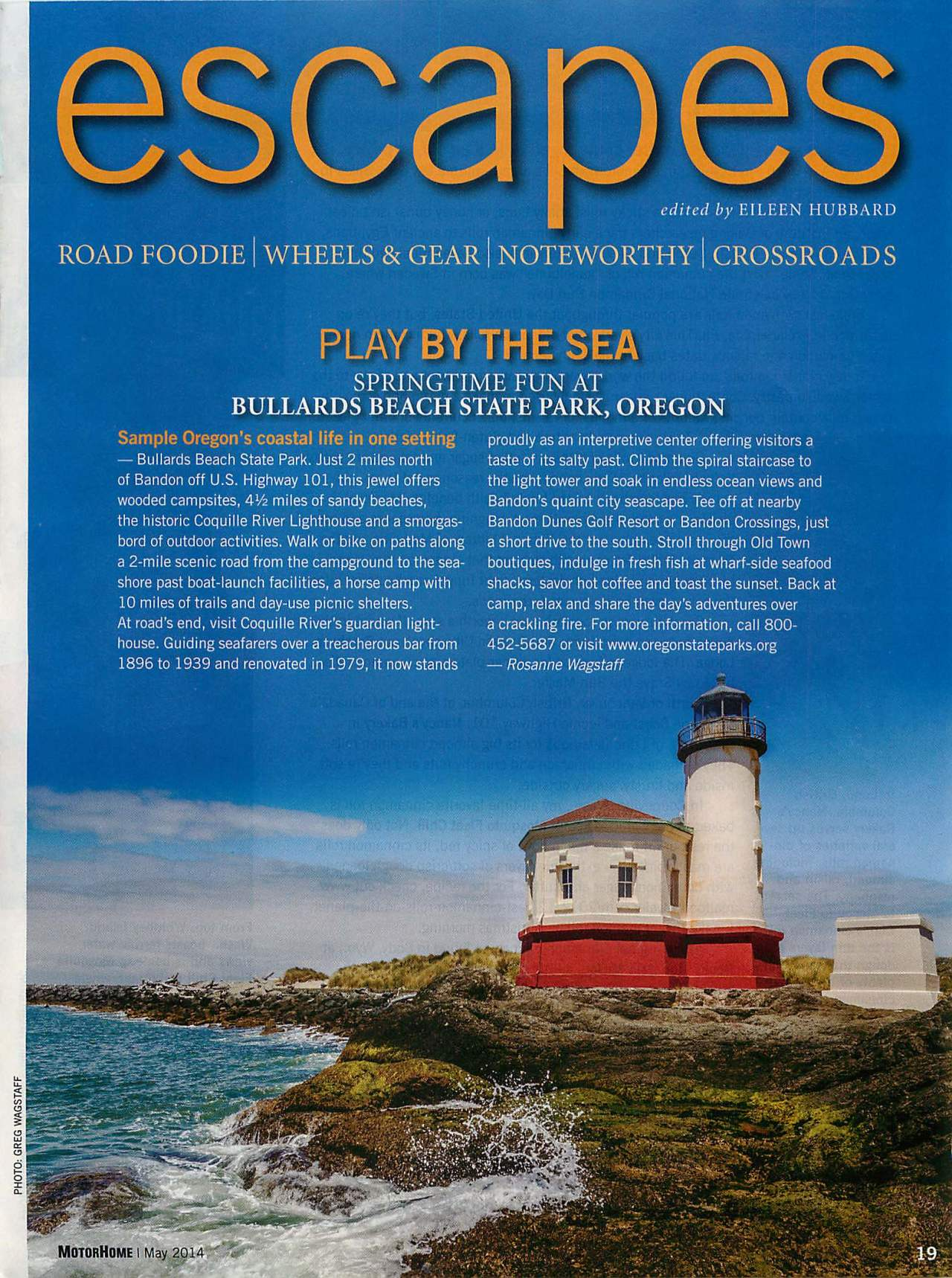 Our Article and Photo in MotorHome Magazine!