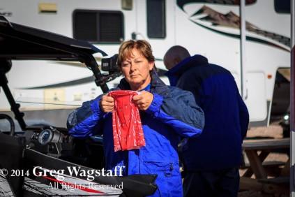 Sharon Getting Ready